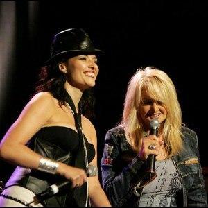 Bonnie Tyler et Kareen Antonn
