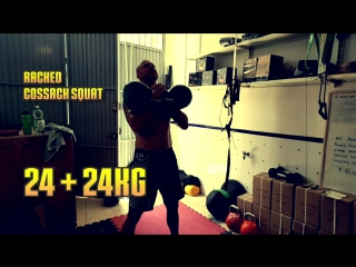 Heavy Killer Leg Session with Kettlebells  SERIOUS WORKOUT