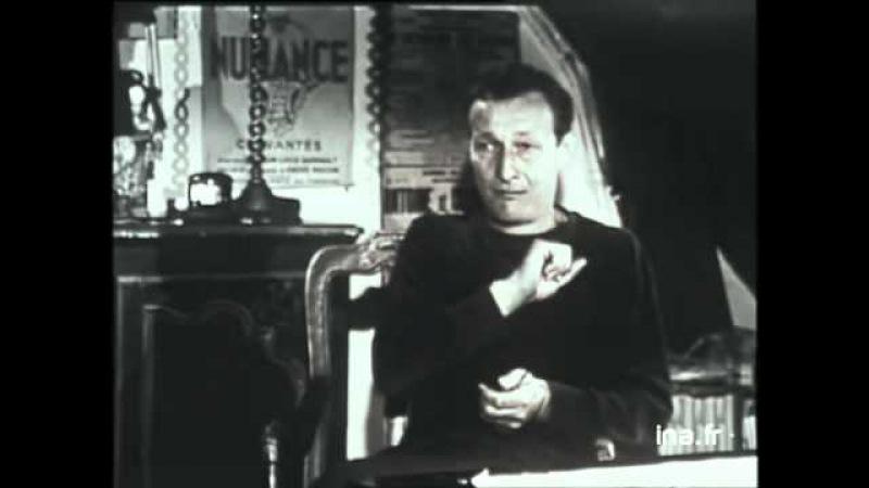 Ж.-Л.Барро о работе над ''Атласный башмачком''. 15.03.1963