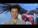Tom Holland on Spider-Man costume, Zendaya and Russian fans