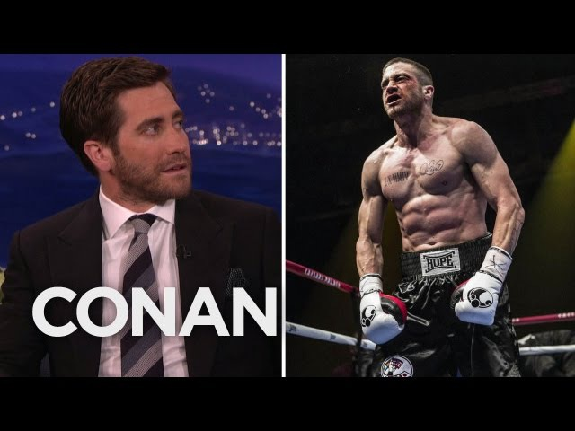 Jake Gyllenhaal: Ronda Rousey Would Kick My Ass - CONAN on TBS
