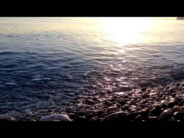 Море гладь и шум волны передо мной... Живая музыка природы Лунная дорожка Релакс ...