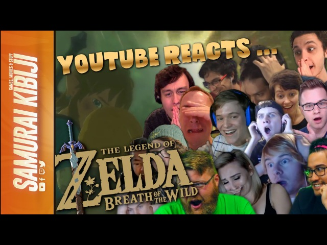 Legend of Zelda: Breath of the Wild (Nintendo Switch 2017) Trailer Reactions Mashup/Compilation Edit