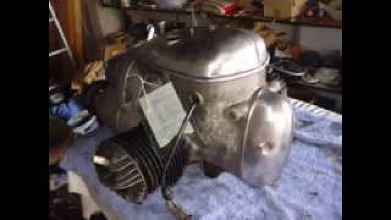 DDR IFA MZ BK 350 Motor mit BVF VERGASER Zündung Getriebe Oldtimer Militär Militaria