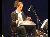 Amazing Hang Drum Performance  Liron Man  Weird Percussion Instruments