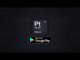 Periodic Table 2017 - Android application