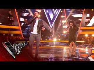 Michelle John vs. Tim Gallagher - 'Nowhere To Run': The Battles   The Voice UK 2017