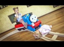 Томас и Его Друзья с куклой Беби бон Паровозик Томас и Железная дорога Thomas. ВИДЕО...