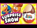 Surprise Show Kinder Surprise - KikOriki. Смешарики - новый мультик Киндер сюрприз