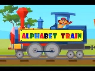 ABC Alphabet Song | Learning Nursery Songs| Toddlers Songs | Alphabet Train