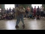 Alexsandra Siroto &amp Jordan-Joy William - Kizomba workshop