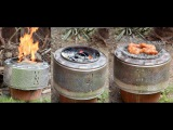 DIY Recycling #2 - Washing machine drum turned into an Incinerator, an Oven and a Grill
