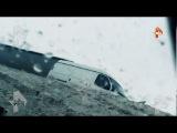 ДТП. Фура с белыми тиграми, вылетела с трассы под Оренбургом.