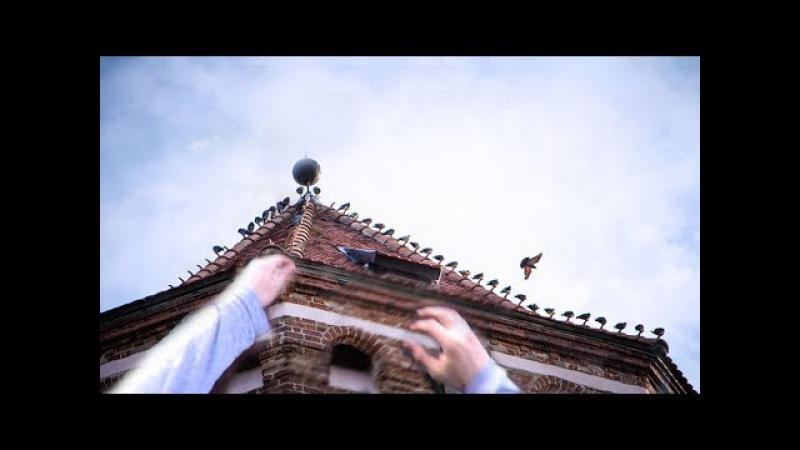 Безумец сорвался! РУФ заброшенной старинной башни (сталк, невероятно)
