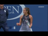 Jelena Ostapenko vs Daria Kasatkina | US Open 2017 R3 Highlights