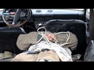 18+ Передача тела солдата ВСУ погибшего утром при штурме донецкого аэропорта