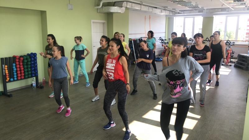Отрытые танцы с Еленой Кибо в Фитнес центре