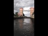 Шлюз. Рыбинске водохранилище.