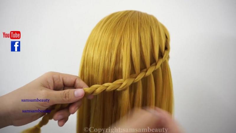 Top Amazing Hair Transformations - Beautiful Waterfall Twist SAMSAM BEAUTY