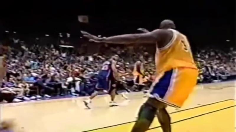 Шакилл О Нилл BEST Dunk Each Year In The NBA! (1992-2011 Seasons)
