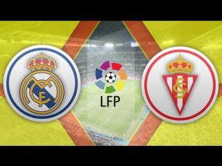 Реал Мадрид 2:1 Спортинг   Испанская Примера 2016/17   13-й тур   Обзор матча