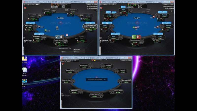 Poker VOD 2.5$ MTSNG via Evgeny-AKQJT