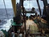Норвежское море , переход на место промысла , октябрь 2016 года