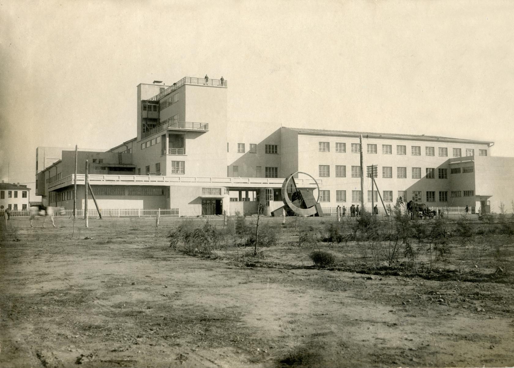 Здание ЦИК (1 корпус КГУ). 1932 год.