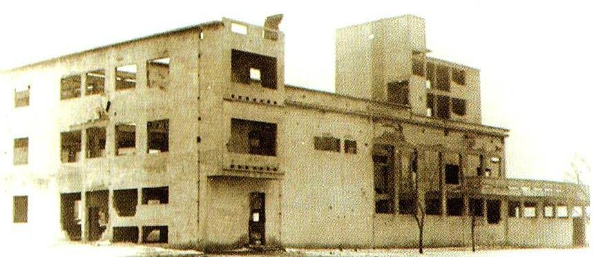Здание ЦИК (1 корпус КГУ). 1943 год.