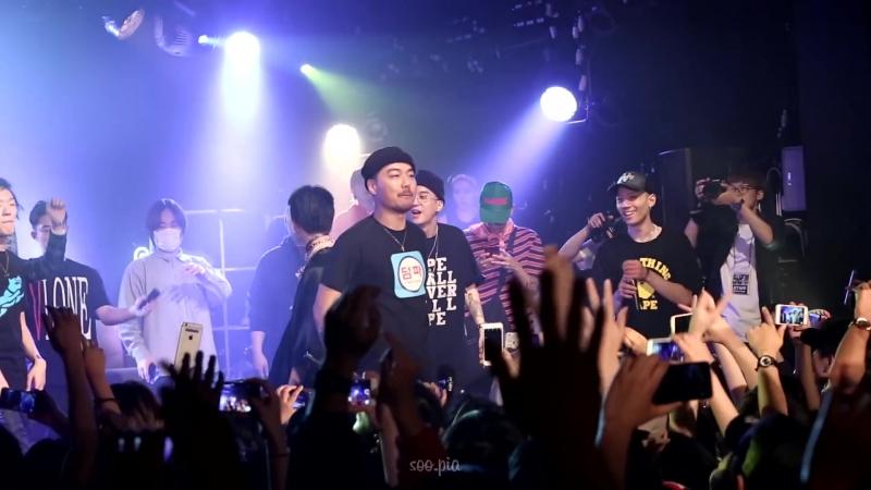 170520 Dumbfoundead - Mijangwon(미장원) feat. Loopy Nafla @ 루피 단독 콘서트 CREAM