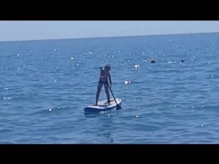 Никита, первый раз на сап серфе. 1 августа17г http://skifactor.ru/
