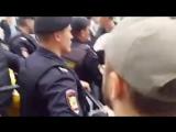 Задержан Алексей Навальный Митинг в Москве 12 июня