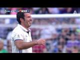 Легенды Реал Мадрид - Легенды Ромы 4:0 | Corazón Classic Match 2017