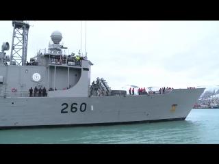 Фрегат ВМС Пакистана Аламгир прибыл в Новороссийск с трехдневным визитом