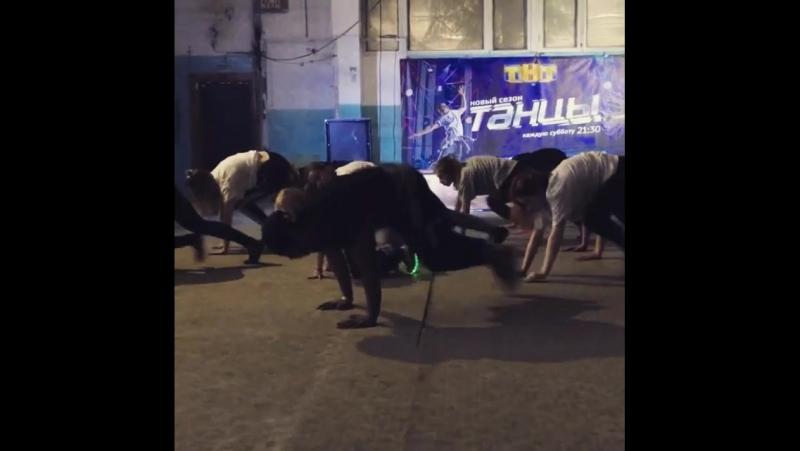хореография с мастер-класса Jose Osorio