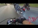 Suzuki Hayabusa Motorcycle Stunts On Highway Wheelie Drifts Busa GSXR 1300 Drifting Wheelies 2016