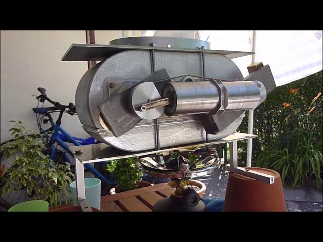 Stirling Motor mit Doppelverdränger - Entstehung