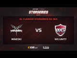 Mineski vs WG Unity, Game 1. SL i-League StarSeries Season 3, SEA