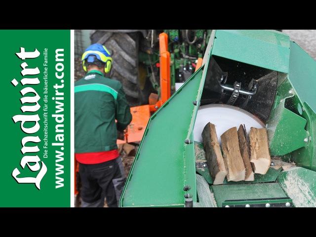 Brennholz schneiden mit Posch AutoCut | landwirt.com