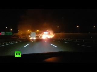 В Италии разбился автобус со школьниками. 21.01.2017.