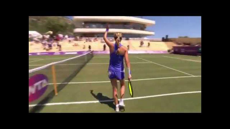 She's back! Victoria Azarenka edges Ozaki 6-3, 4-6, 7-6(7) in Mallorca Open First round! 21/06/2017