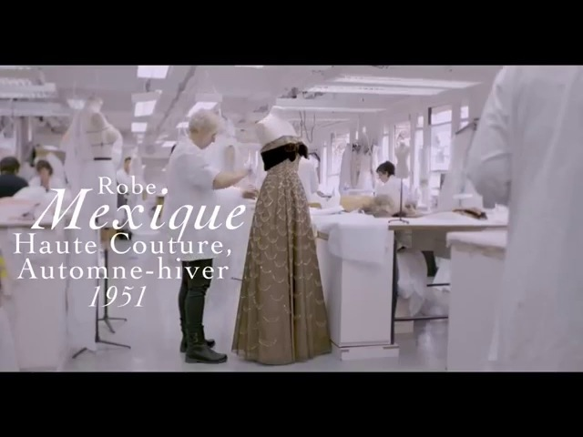 Le Petit Théâtre Dior Making of Mexique dress