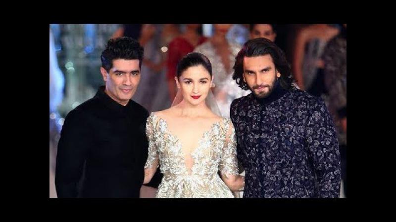   Manish Malhotra   Sensual Affair   Ranveer Singh   Alia Bhatt   India Couture Week 2017  