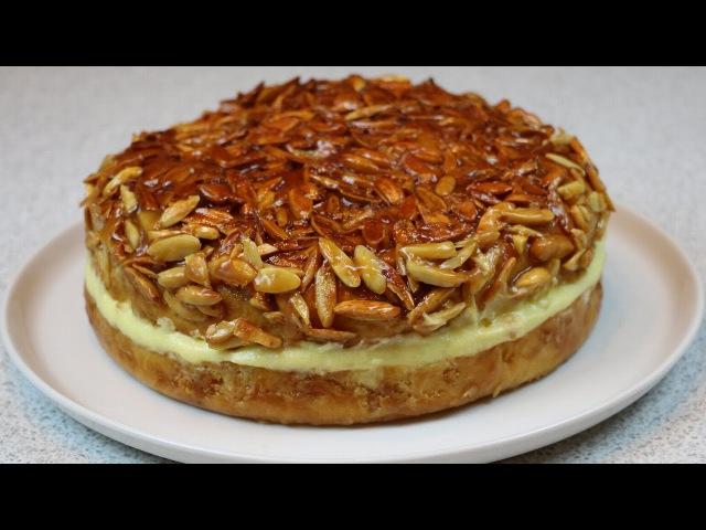 Пирог торт Укус пчелы (Bienenstich) ✧ Bee Sting Cake Recipe (English Subtitles)