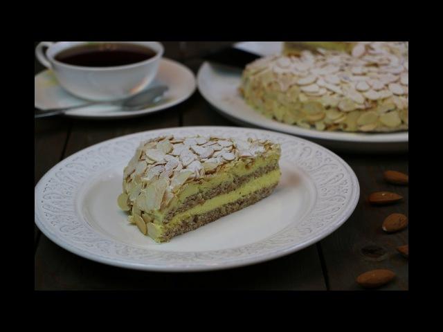 Шведский Миндальный Торт из ИКЕА ✧ Торт Almondy IKEA ✧ Schwedische Mandeltorte (English Subtitles)