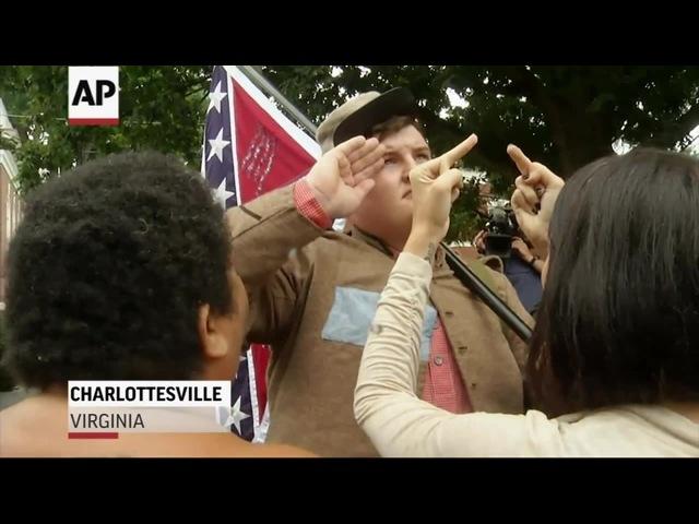 Brawling Continues Near Va. Confederate Statue