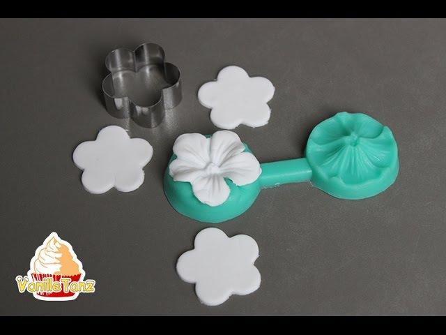 Kleine Blumen aus Fondant/Blütenpaste