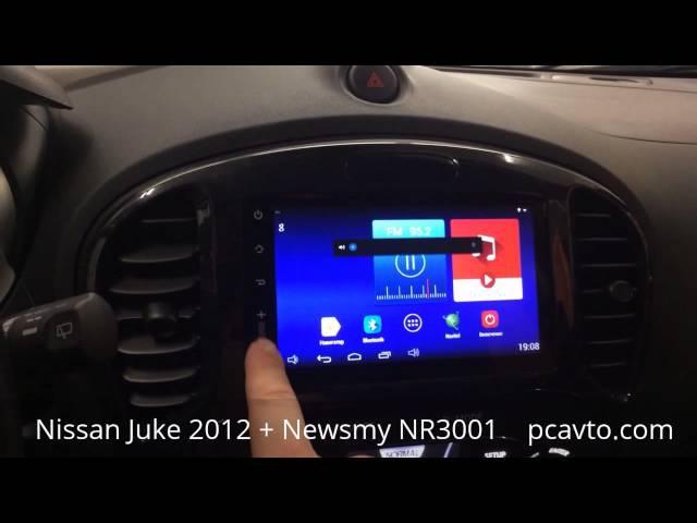 Nissan Juke 2012 Newsmy NR3001 магнитола на android 4.4. (pcavto.com)