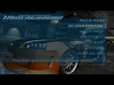 Need for Speed Underground 2003 - main menu ''Get low'' ULTRA HD
