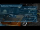 Need for Speed Underground 2003 - main menu Get low ULTRA HD